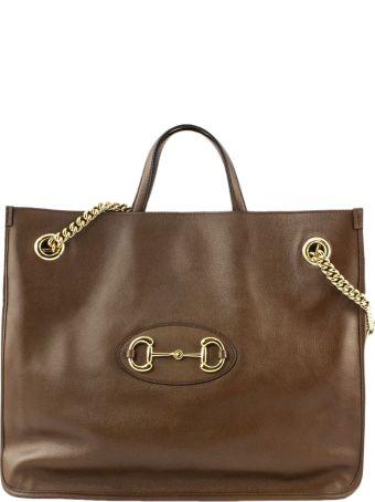 Gucci Gucci 1955 Horsebit Large Tote Bag