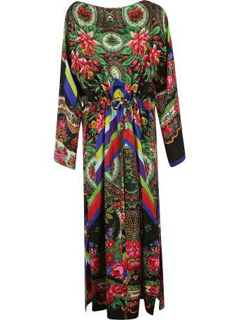 Pierre-Louis Mascia Floral Tie Waist Dress