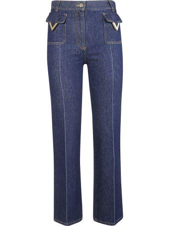Valentino V Detail Jeans