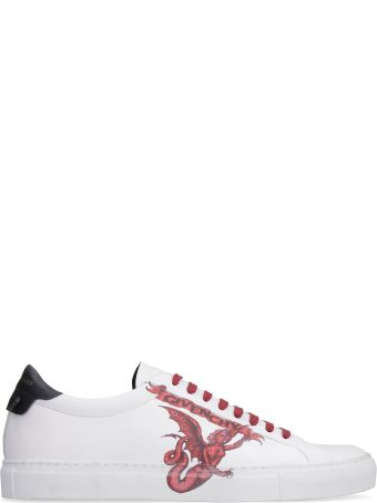 Givenchy Printed Leather Low-top Sneakers