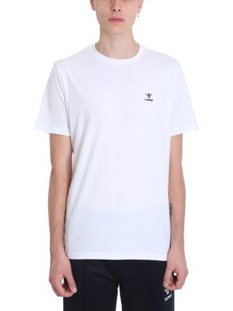 Hummel White Cotton T-shirt