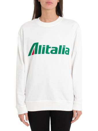 Alberta Ferretti Alitalia Sweatshirt By Alberta Ferretti