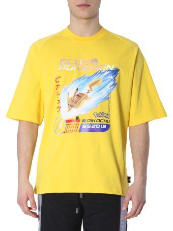 GCDS T-shirt With Pikachu Print