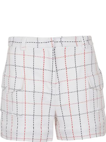 MSGM Check Pattern Shorts