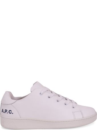 A.P.C. White Lo-top Sneakers