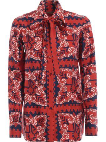 Valentino Mini Bandana Shirt