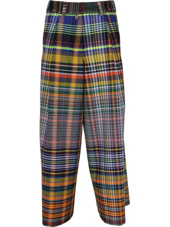 Dries Van Noten Checked Classic Trousers