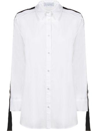 Gaelle Bonheur Side Logo Stripe Shirt