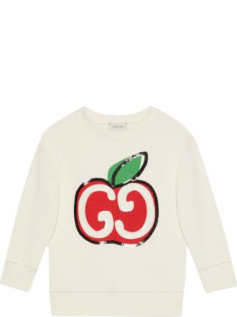 Gucci Kids Gg Sweatshirt With Print