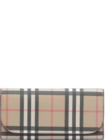 Burberry Heron Vintage Check Bonded Leather