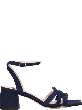 Bibi Lou Blue Suede Sandals