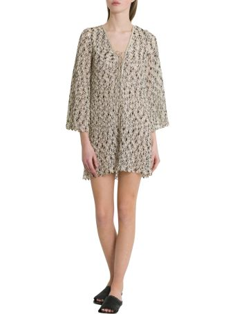Missoni Woven Tunic With Wave Motif