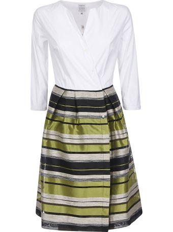 Sara Roka Striped Dress