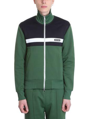 Ami Alexandre Mattiussi Green Cotton Sweatshirt