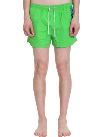 Dsquared2 Green Polyamide Beachwear