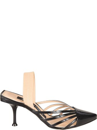 Sergio Rossi Classic Mary Jane Pumps