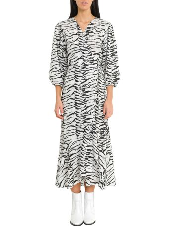 Rixo London Noleen Mono Tiger Dress