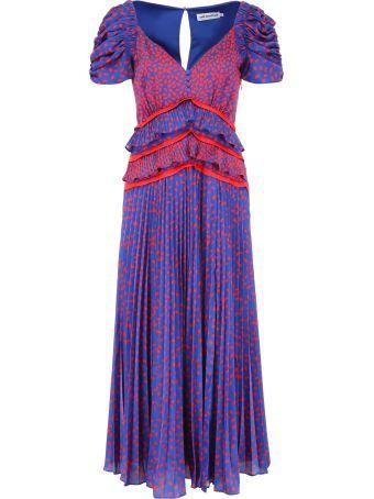self-portrait Printed Dress