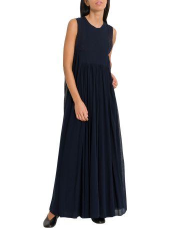 Jil Sander High Waist Long Dress