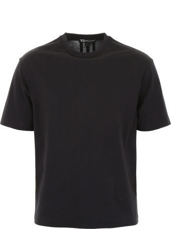 Y-3 T-shirt With Print On The Back