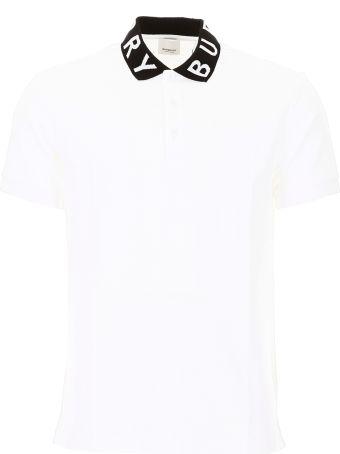 Burberry Bicolor Ryland Abata Polo Shirt