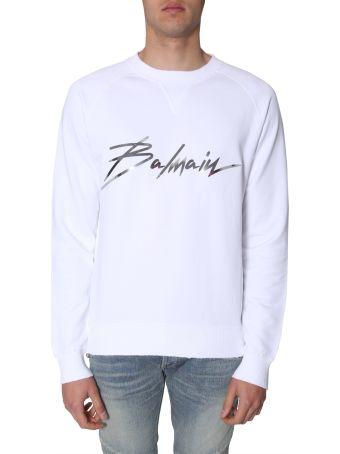 Balmain Crew Neck Sweatshirt