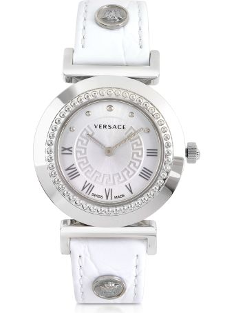 Versace Vanity Lady White Women's Watch