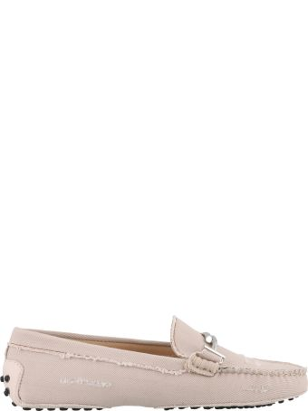 Tod's Denim Double T Loafer