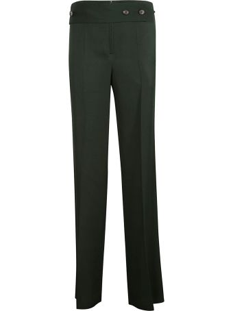 Victoria Beckham Wide Martingale Trousers
