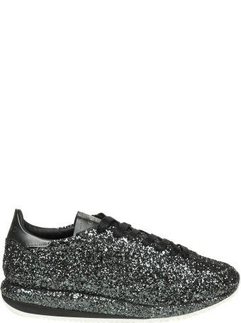 GHOUD Sneakers In Glitter Color Black