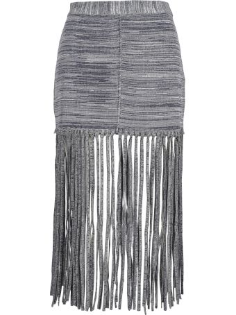 Chloé Chloe' Skirt Fringed