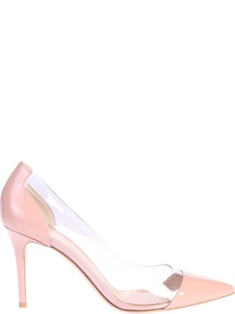 Gianvito Rossi Pink Pointed Pumps