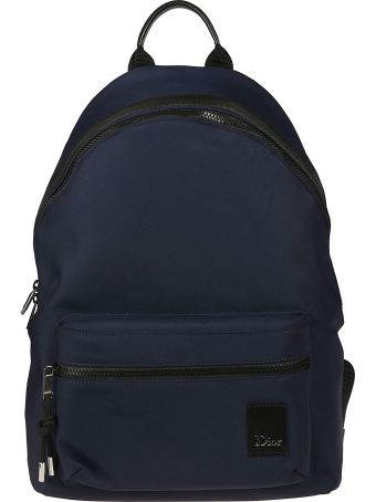 Christian Dior Logo Patch Backpack