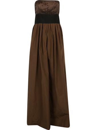 Brunello Cucinelli Embellished Slim Fit Dress