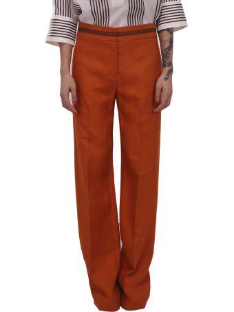 Loro Piana Orange Trousers