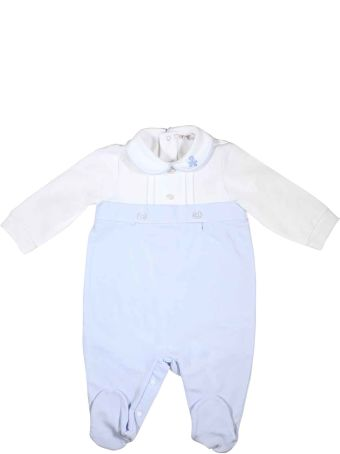 leBebé White And Blue Baby Suit Le Bebè