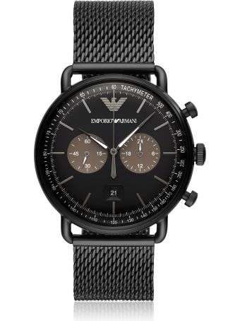 Emporio Armani Ar11142 Aviator Men's Watch