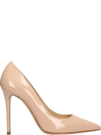 The Seller Nude Patent Leather Pumps