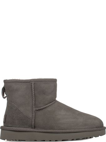 UGG Gray Mini Classic Low Boot