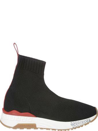 Versace Ankle Sock Hi-top Sneakers