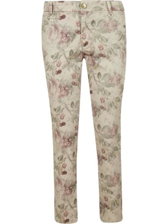 Mason's Flower Print Trousers