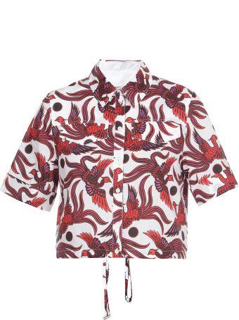 Kenzo Cotton Printed Shirt