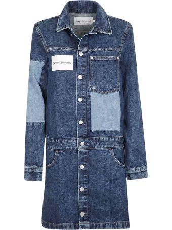 Calvin Klein Jeans Denim Shirt Dress