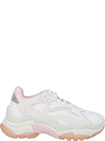Ash Ridged Sole Sneakers