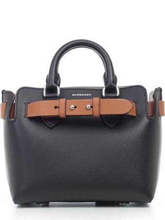 Burberry Mini Leather Belt Tote