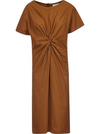 Erika Cavallini Gather Detail Dress