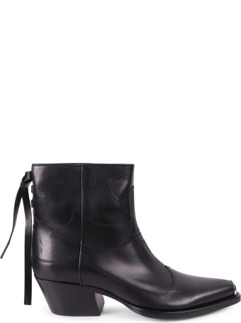 HTC Black Texano Boots
