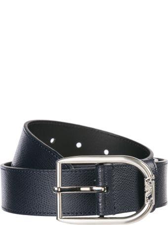 Emporio Armani  Genuine Leather Belt