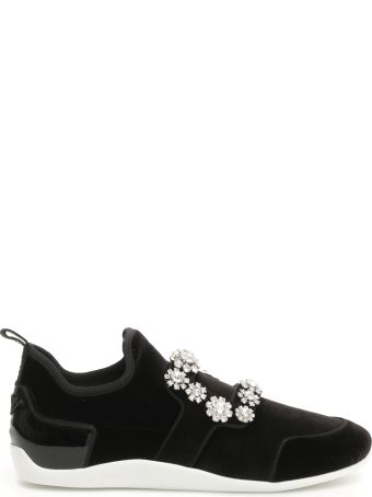 Roger Vivier Sporty Viv Flower Sneakers