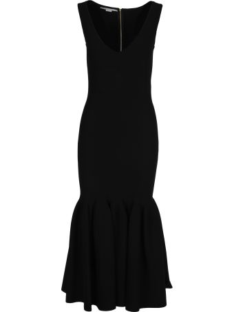 Stella McCartney Midi Dress Plated Skirt